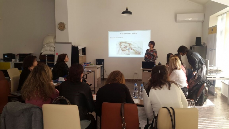 Training on speech therapy for specialists of Abkhazia