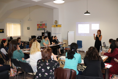 Training for child psychologists and speech therapists