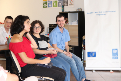 The meeting of the Youth CSOs at the Center Prospect